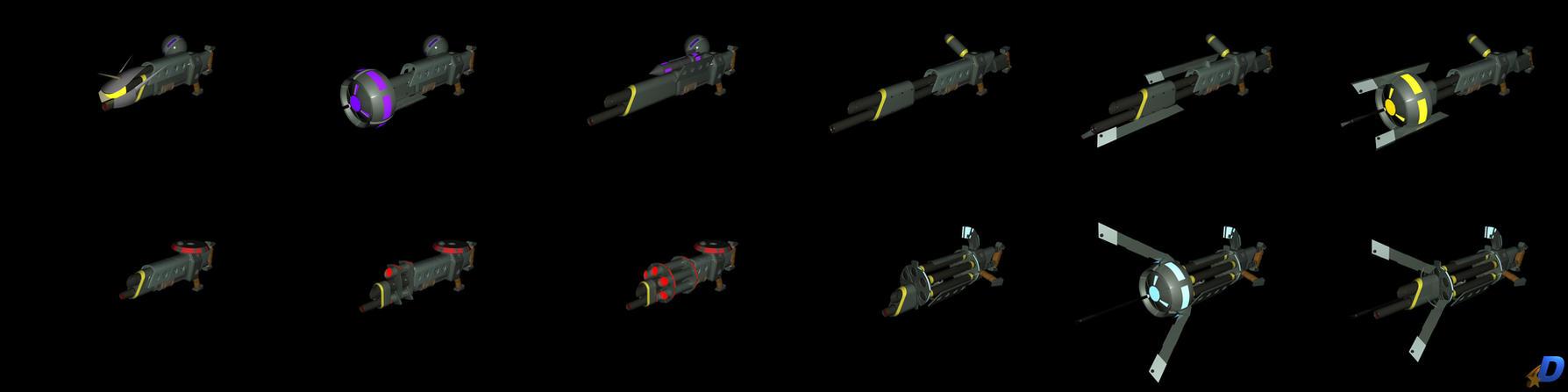 Morph Guns by Dave-Mastor