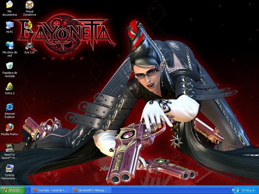Bayonetta Desktop by DJWill