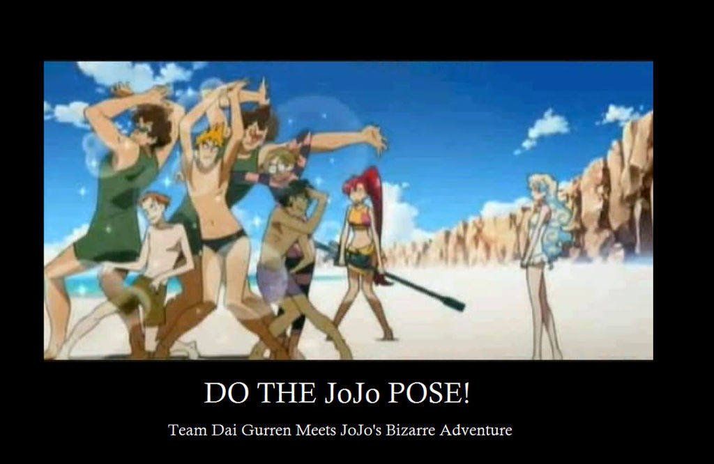 Jojo Pose Motivation By Djwill On Deviantart