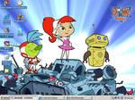 Atomic Betty New Desktop