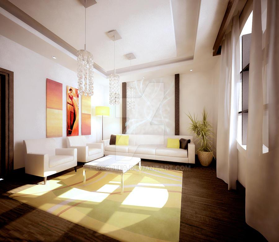 Modern Office shot 1 by Gsobeea