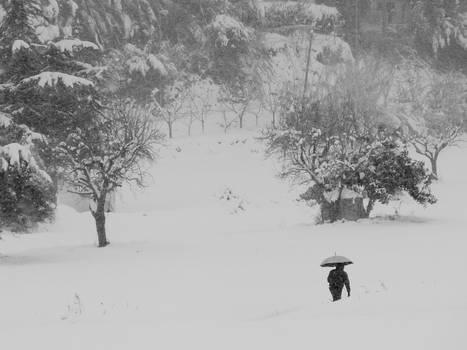 Walking under the Snow 01