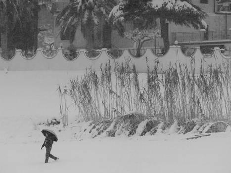 Walking Under the Snow 03