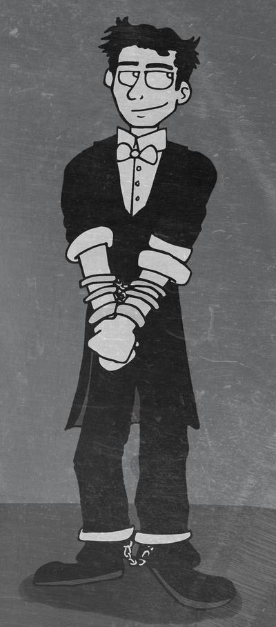 Harry Houdini by Jeis