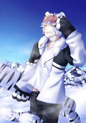Snow Tora by Riukkii