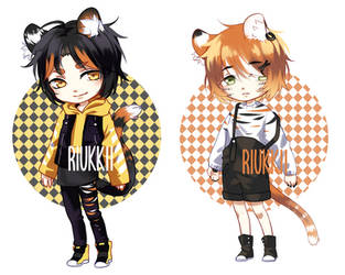 CLOSED Tiger Siblings Adopts SET PRICE by Riukkii