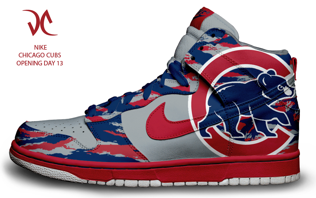 Chicago Cubs Mens Shoes