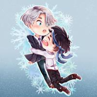 Yuri On Ice Sticker beta by Eri-chan45