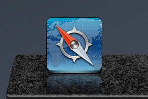 Black Marble Dock for iOS by jays838