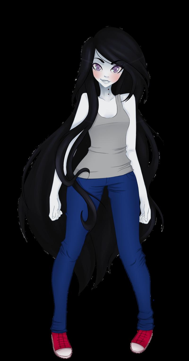 Marceline by xXKefirXx on DeviantArt