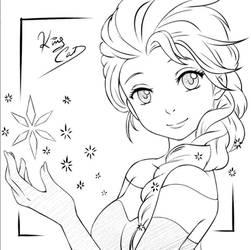 Elsa (fanart) by Noboru-revista