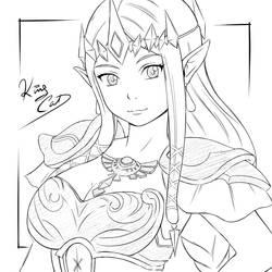 Princess Zelda by Noboru-revista