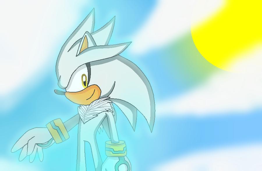 Silver The Hedgehog by marigetta777