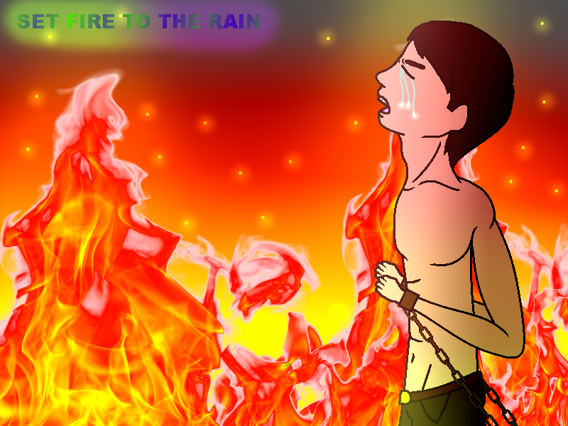 Set Fire To The Rain - wigetta by marigetta777
