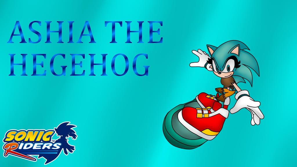 Sonic Free Riders ashia by marigetta777