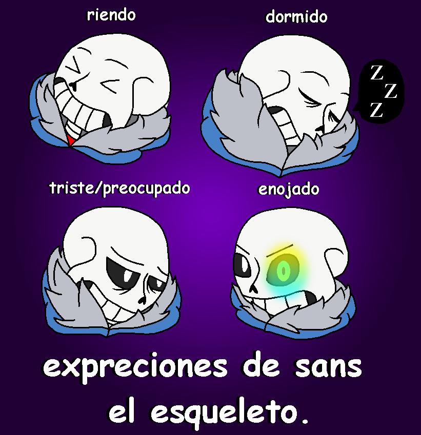 Espresiones De Sans - Undertale by marigetta777