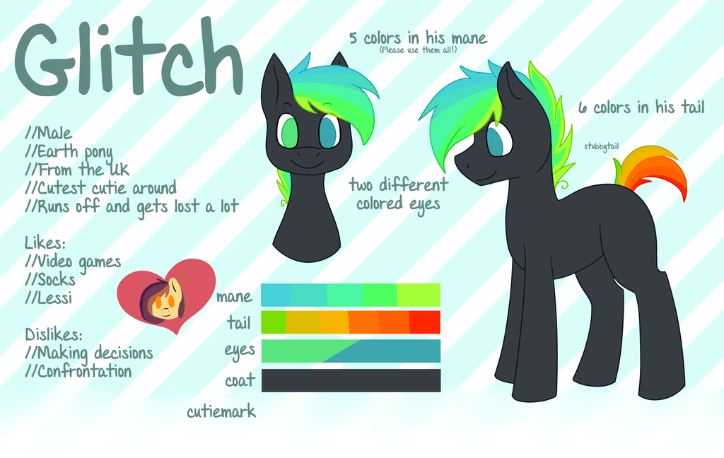 Glitch Reference by Ruef-Bae