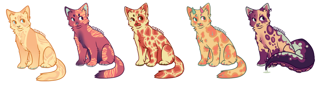 Cat Adopts!!! by Ruef-Bae