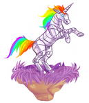 Robot Unicorn Attack Redraw