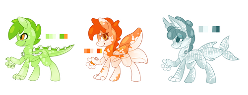 Pool Pony Adopts - OPEN by Ruefers