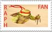Raph Fan Stamp by sexypurplebailey