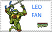 TMNT Leo Stamp by sexypurplebailey