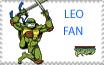 TMNT Leo Stamp by sexypurplebailey
