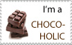 I'm a Chocoholic Stamp by sexypurplebailey