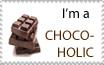 I'm a Chocoholic Stamp by sexypurplebailey