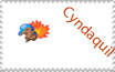 Cyndaquil Stamp - Request by sexypurplebailey