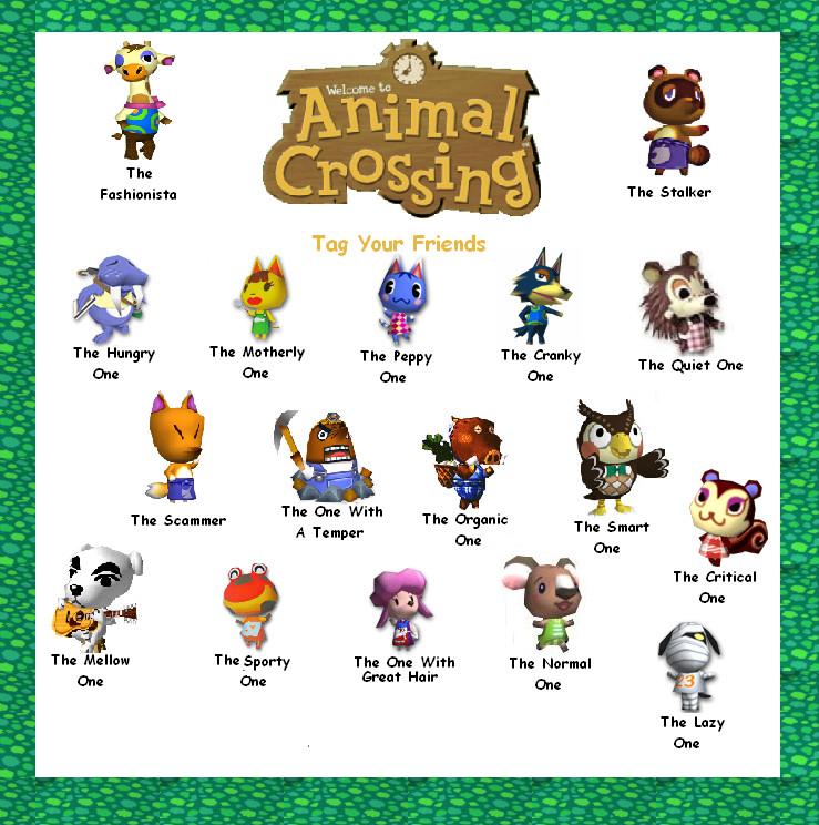 Animal Crossing Facebook Tag by MangaSunny