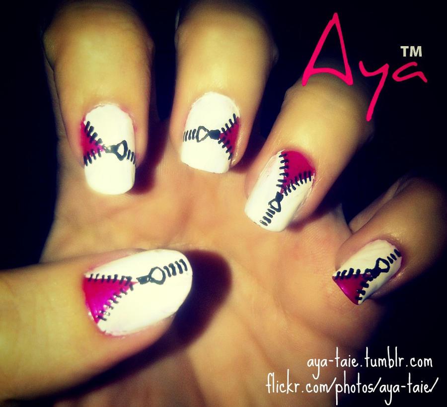 Nail Art Zipper Nail Art Designs