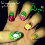 Fruity Nail Art