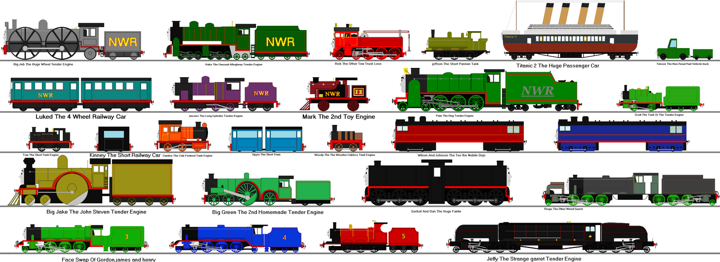 Rejected Thomas And Friends Characters 6 By Ultraloco