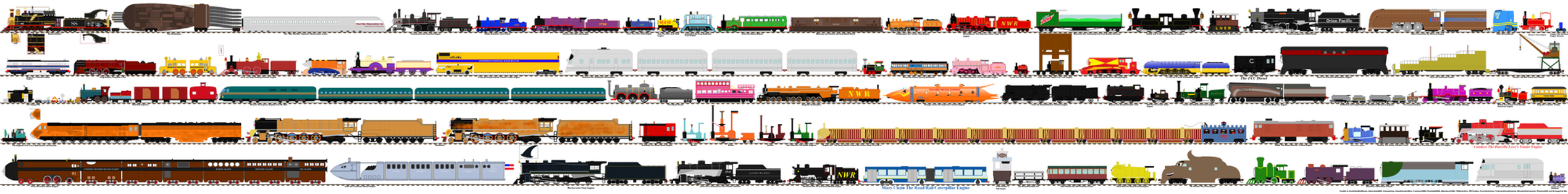 Rejected Thomas Characters 11A by Ultraloco