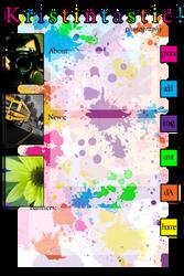 Kristintastic layout