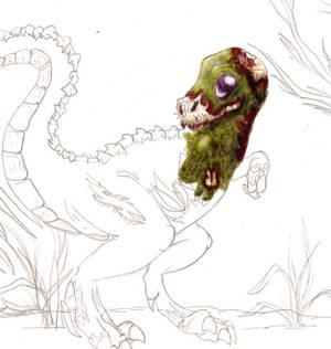 WIP Zombie Raptor