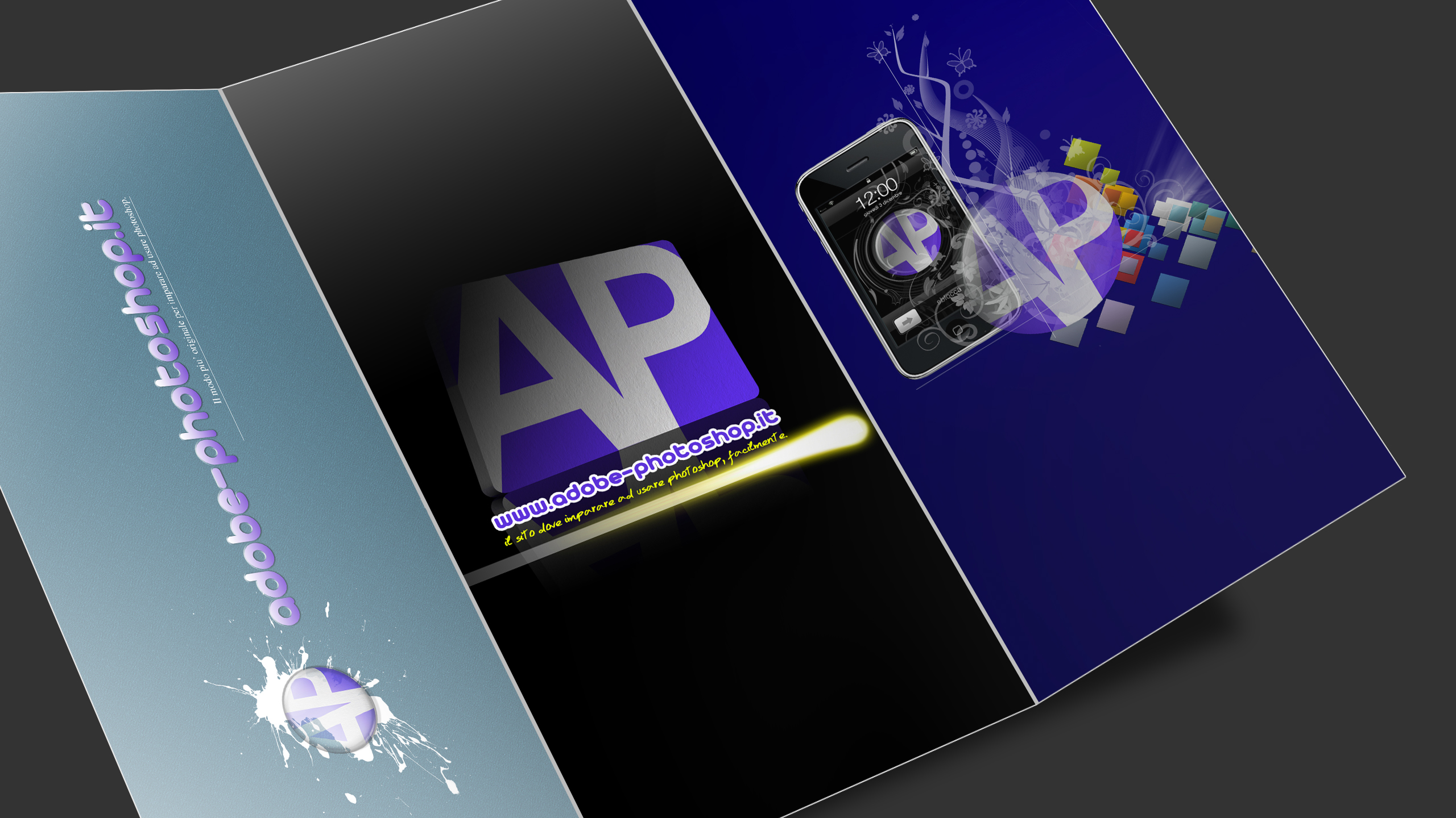 Brochure by adobe photoshop on deviantart for Adobe photoshop brochure templates