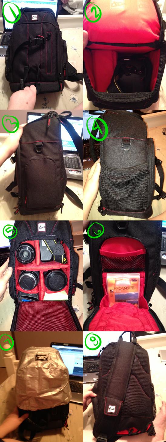 DA Pro Camera Bag by KingRefi