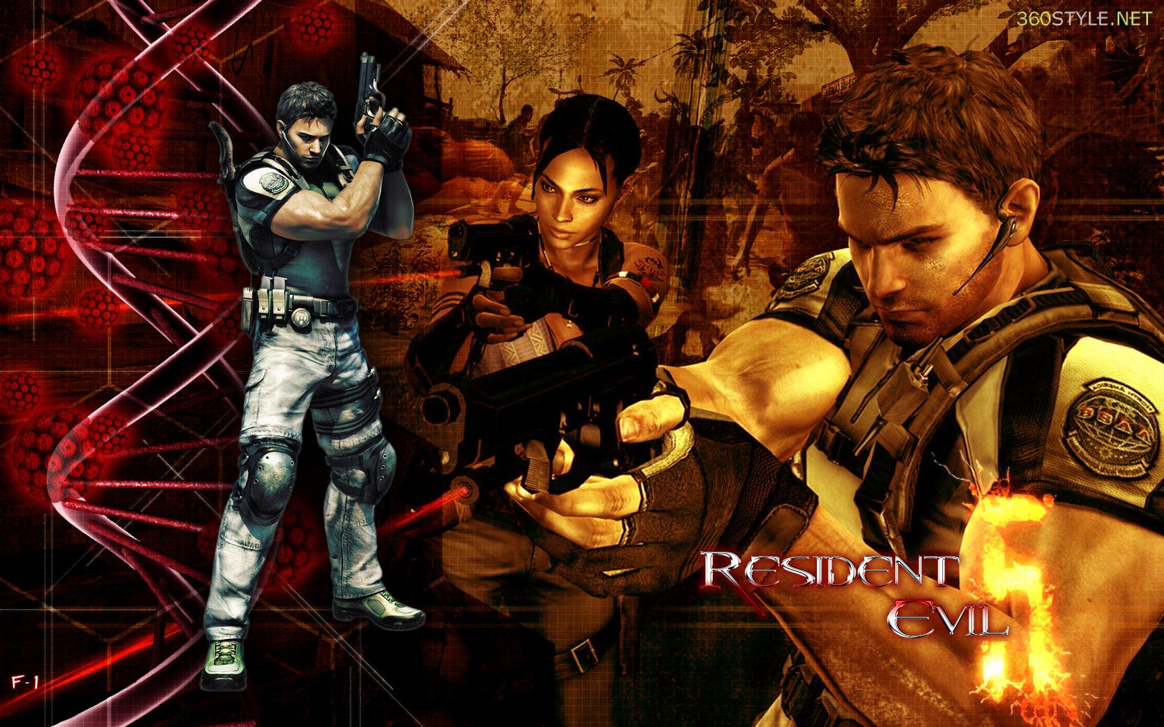 Resident evil 5 pc mega full identi - Wallpaper resident evil 5 ...