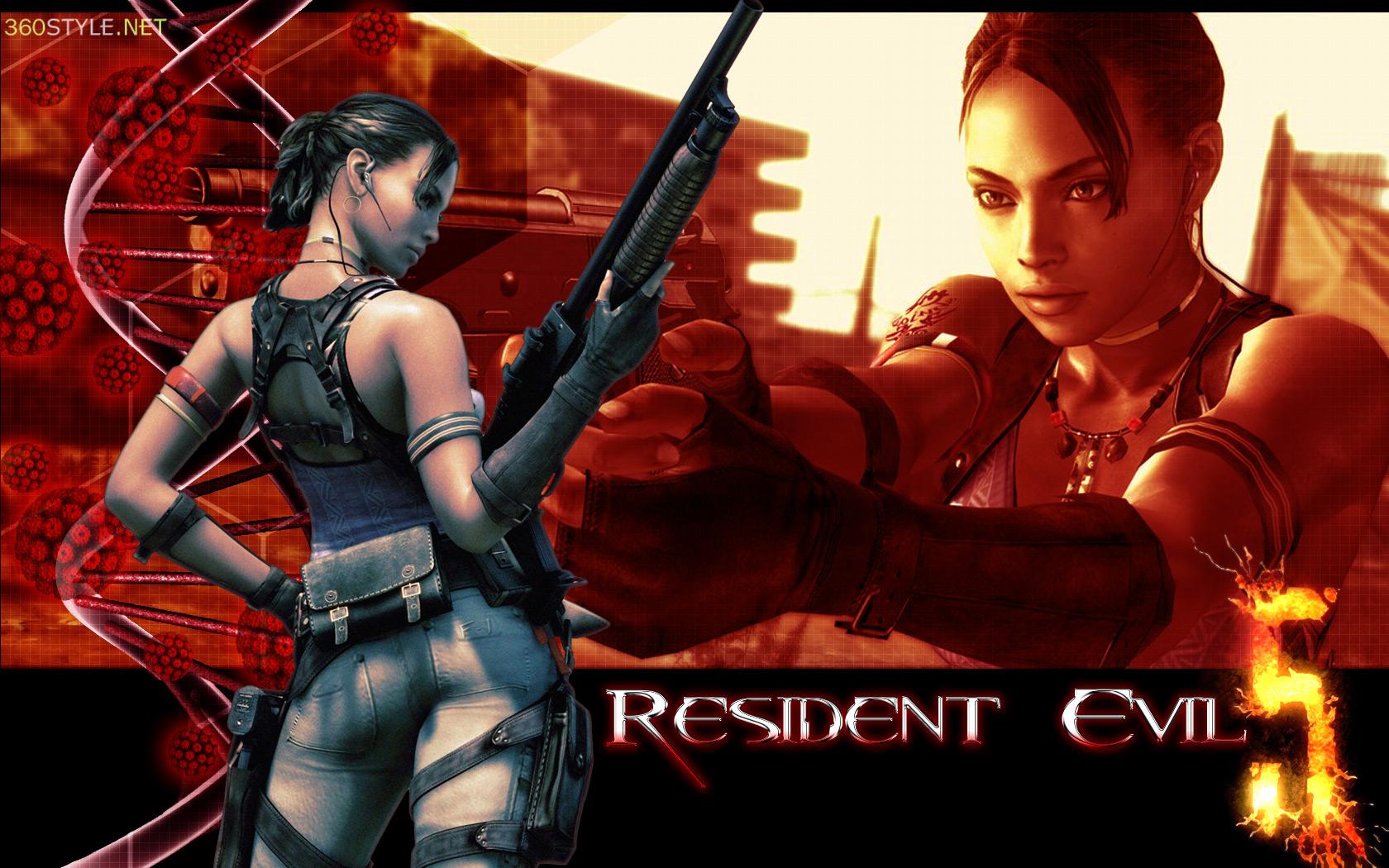 Resident evil 5 wallpaper no 2 by f 1 on deviantart - Wallpaper resident evil 5 ...