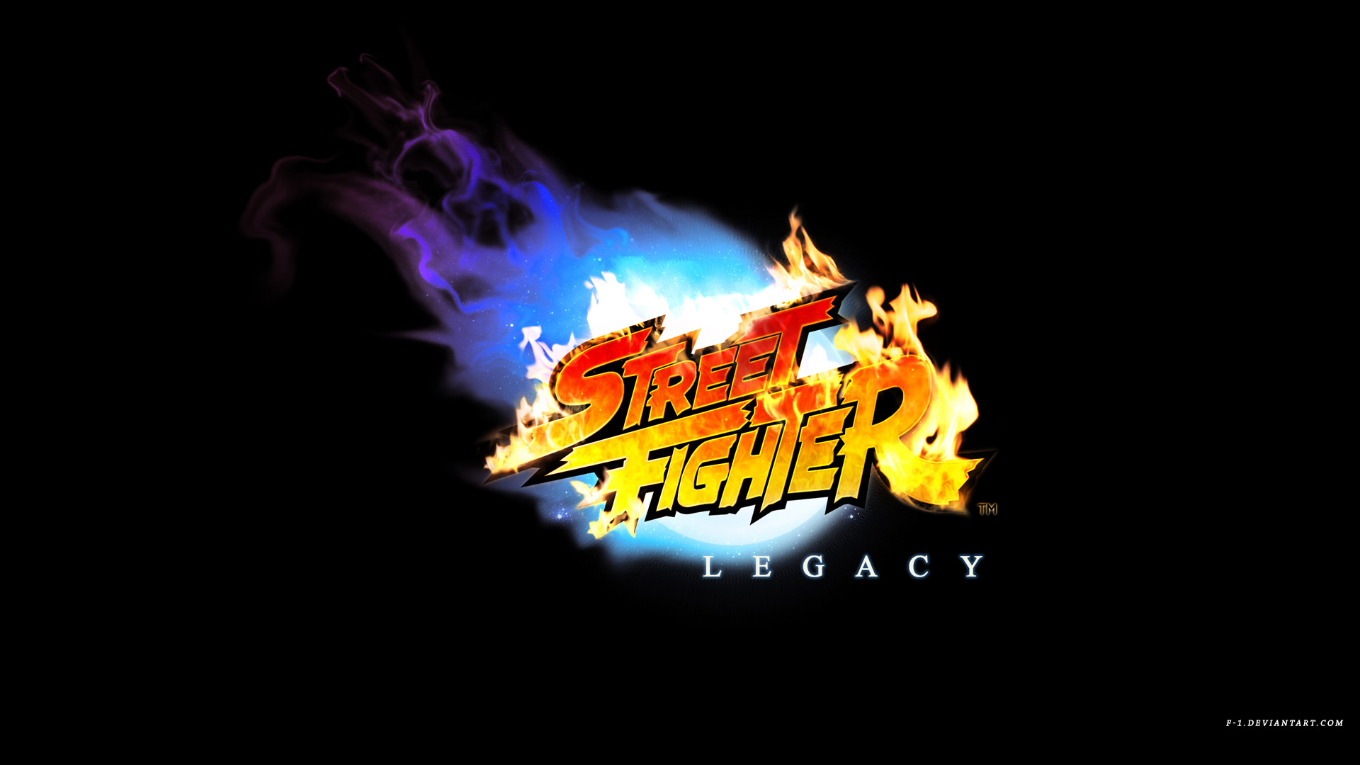 Street Fighter Legacy Logo By F 1 On Deviantart
