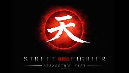 Street Fighter Assassin's Fist Logo (black v1) by F-1