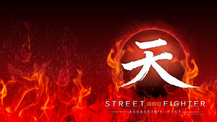 Street Fighter Assassin's Fist Logo (Flames/Red) by F-1
