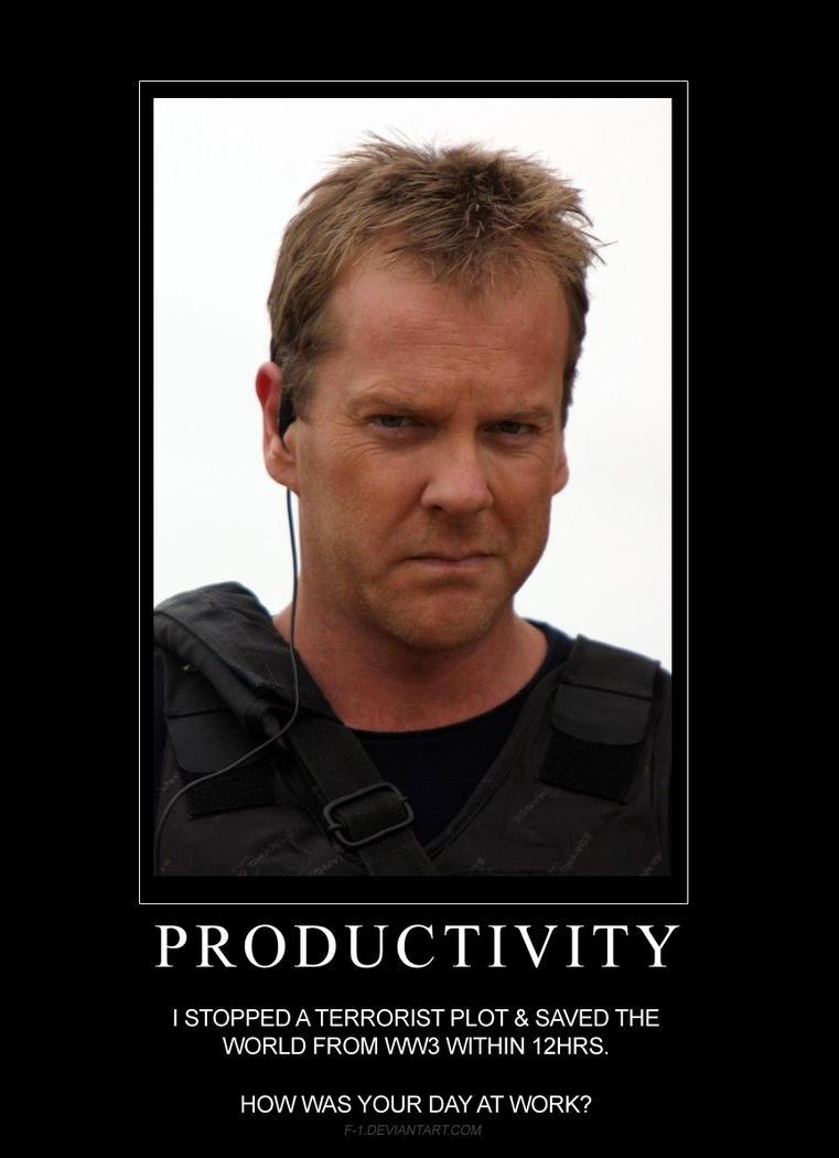 Jack Bauer Chloe Meme 24: Live Anothe...