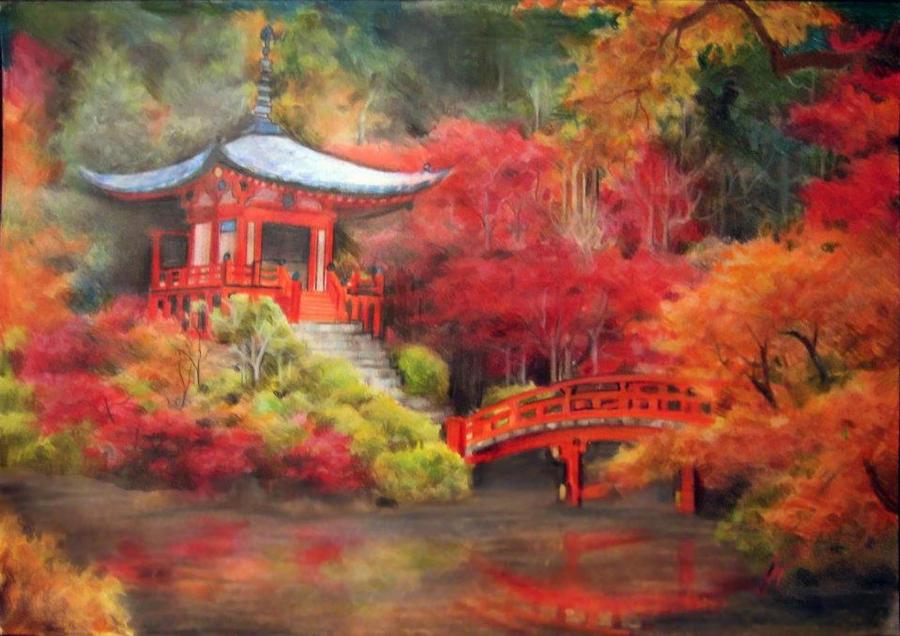 Kyoto Shrine by JayTrapOnIt