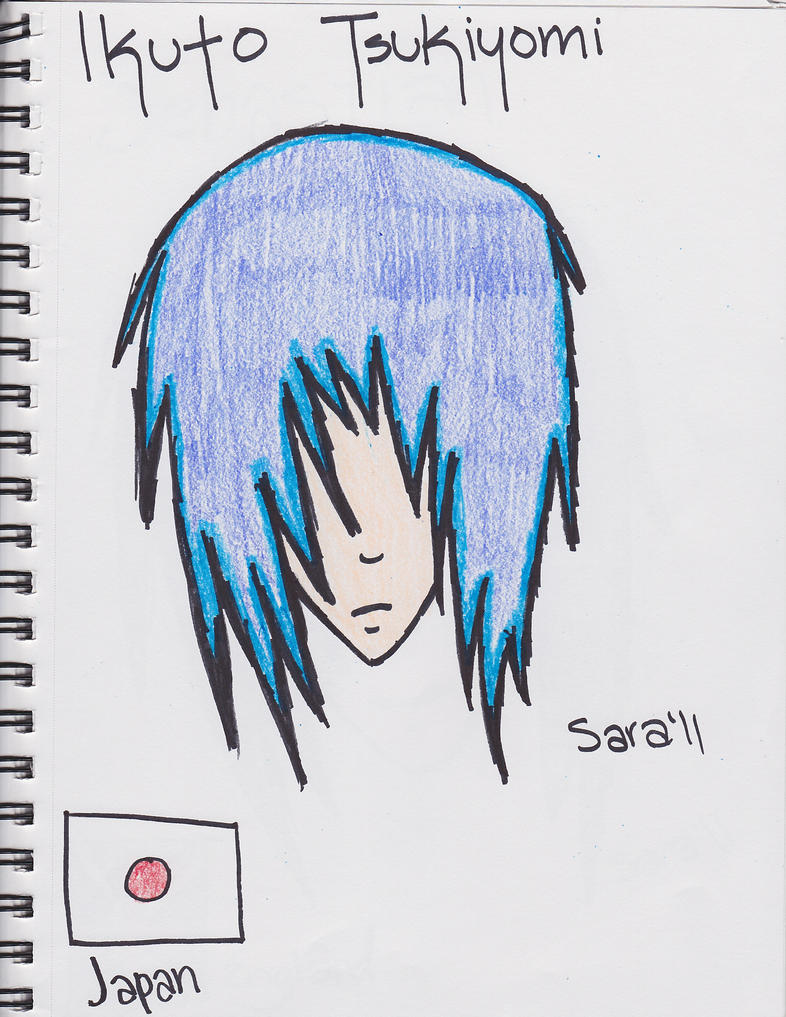 The new Ikuto by VampireSara26