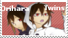 Orihara twins stamp by White-Balverine