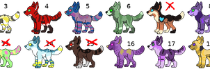 20 Cheap Point Adopts 12/20 open SALE!