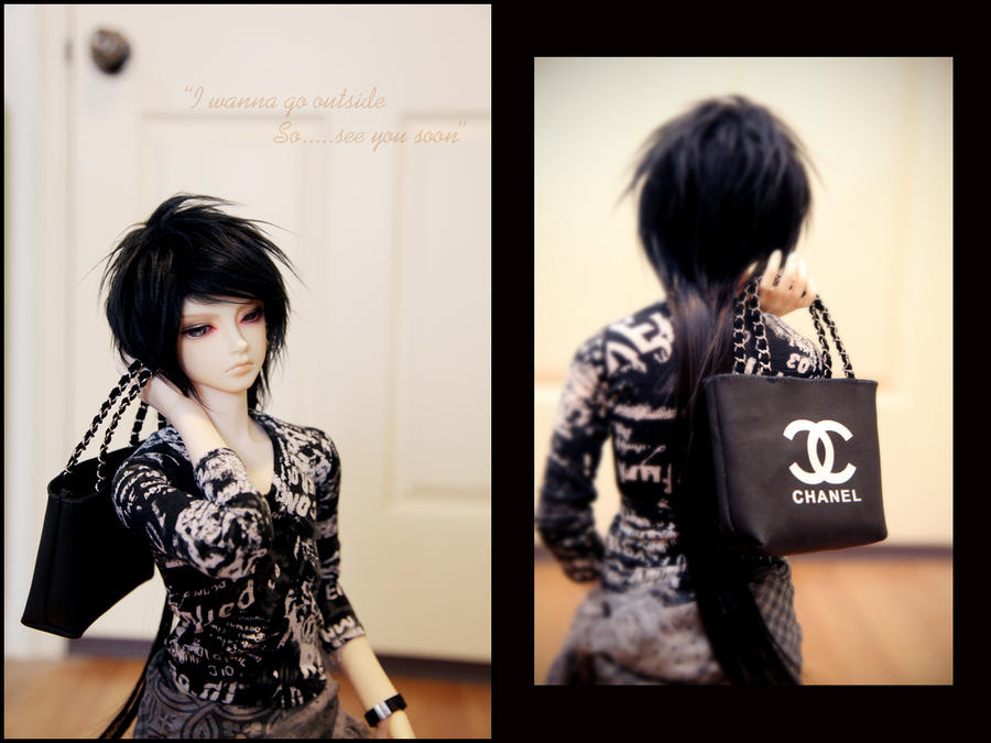 Yuki with his CHANEL by Jameskillermaster